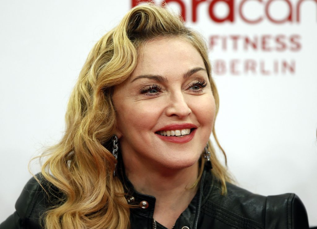 madonna smile widescreen wallpapers