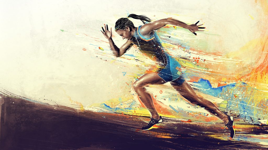 running hd wallpapers