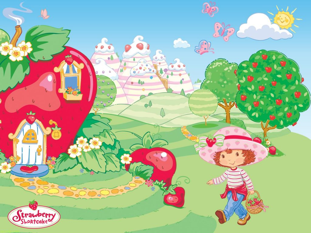 strawberry shortcake computer wallpapers