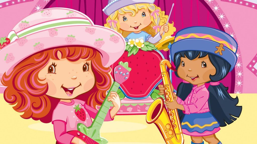 strawberry shortcake desktop wallpapers