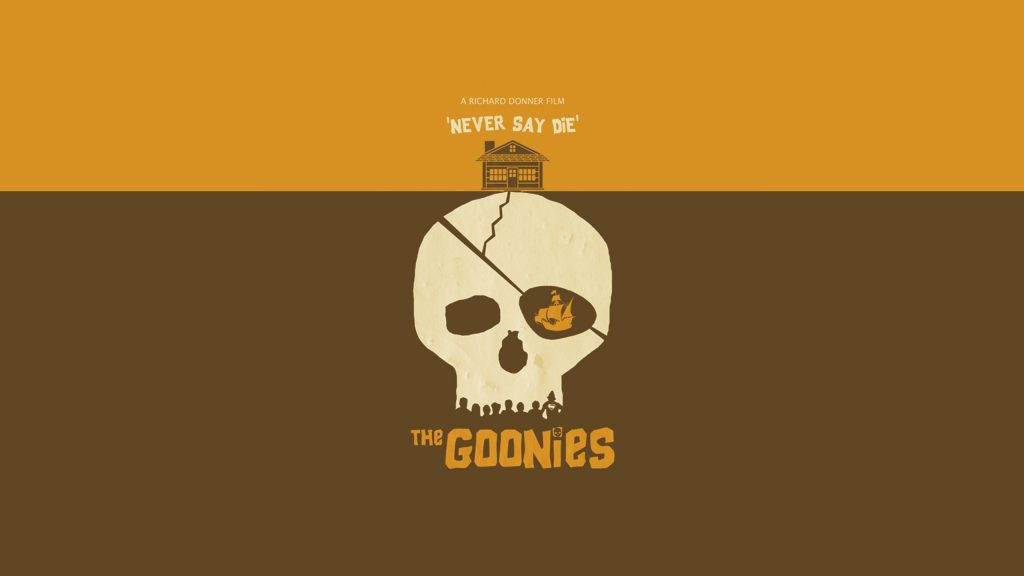 the goonies movie poster background wallpapers