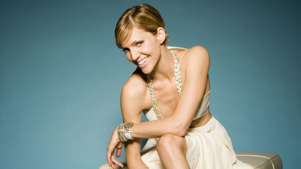 tricia helfer smile hd wallpapers