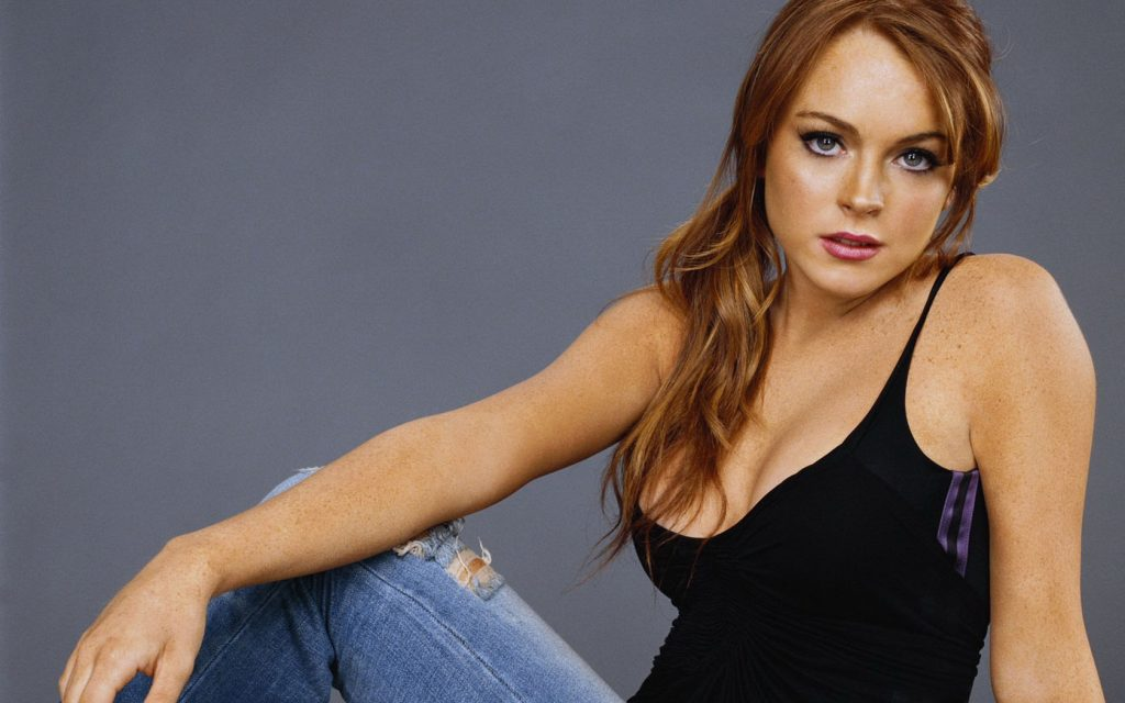 hot lindsay lohan wallpapers