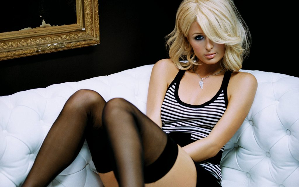 hot paris hilton wallpapers