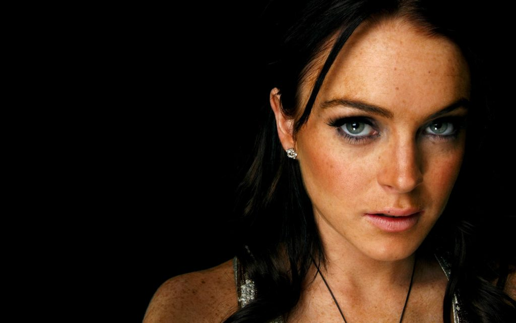 lindsay lohan makeup wallpapers