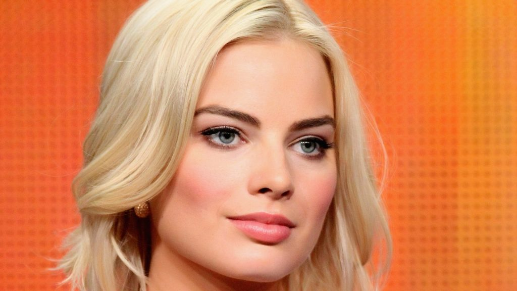 margot robbie face wallpapers
