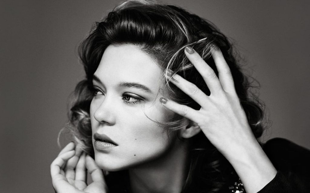 monochrome lea seydoux wallpapers