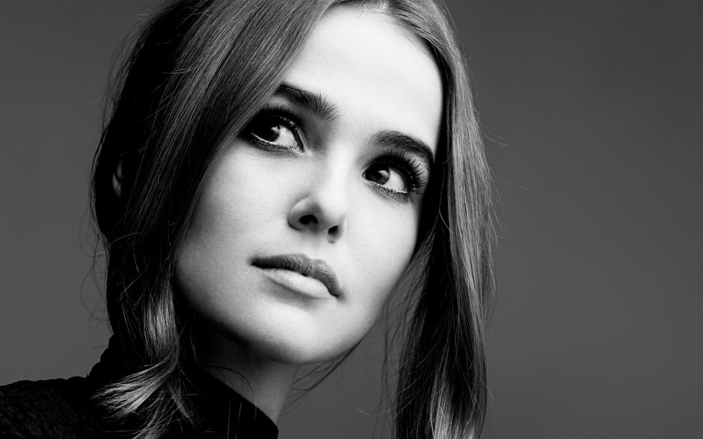 monochrome zoey deutch wallpapers