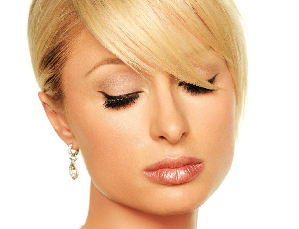 paris hilton face hd wallpapers
