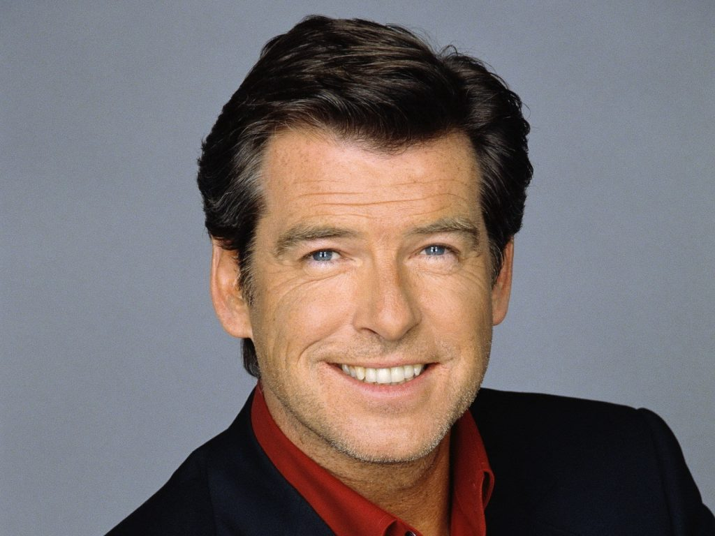 pierce brosnan smile wallpapers