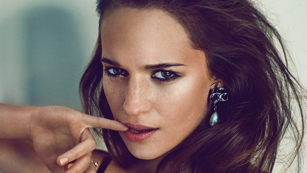 alicia vikander face wallpapers