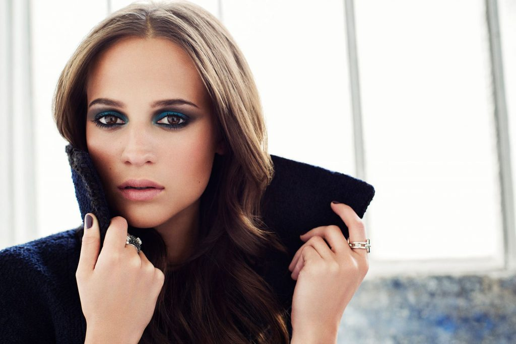 alicia vikander makeup wallpapers