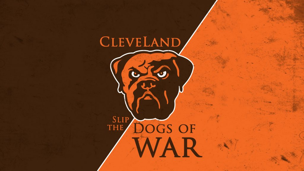 cleveland browns logo desktop hd wallpapers