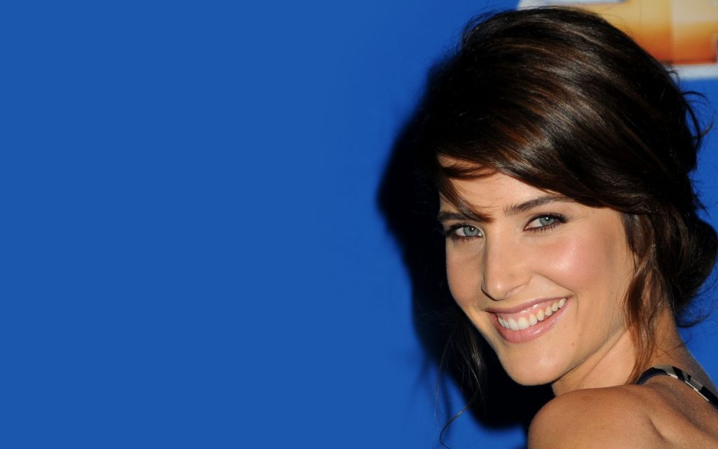 cobie smulders celebrity smile wallpapers