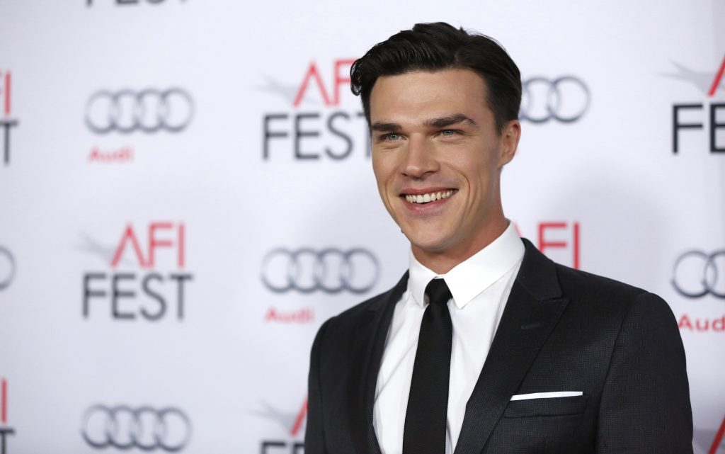 finn wittrock smile background wallpapers