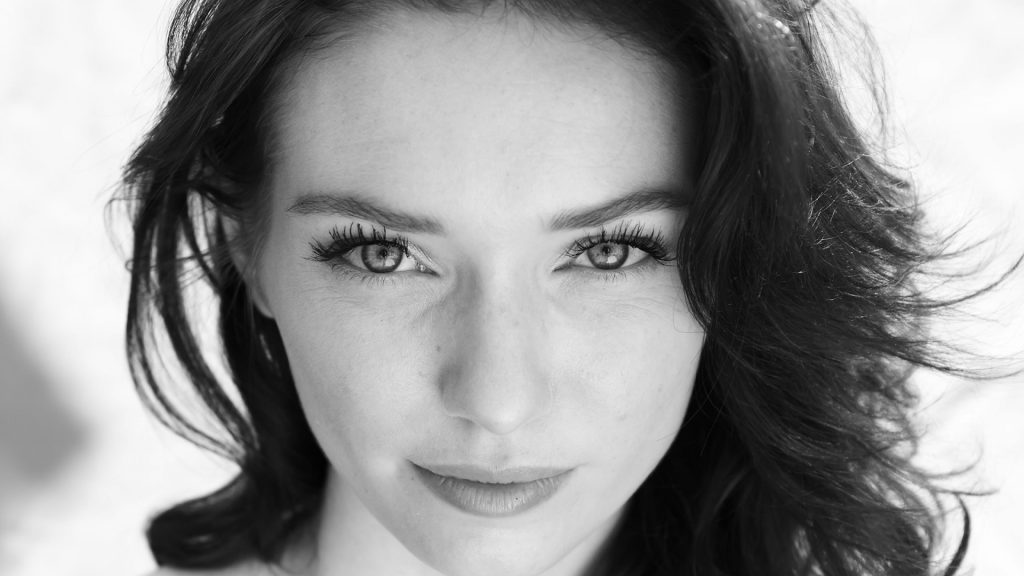 monochrome eleanor tomlinson face wallpapers