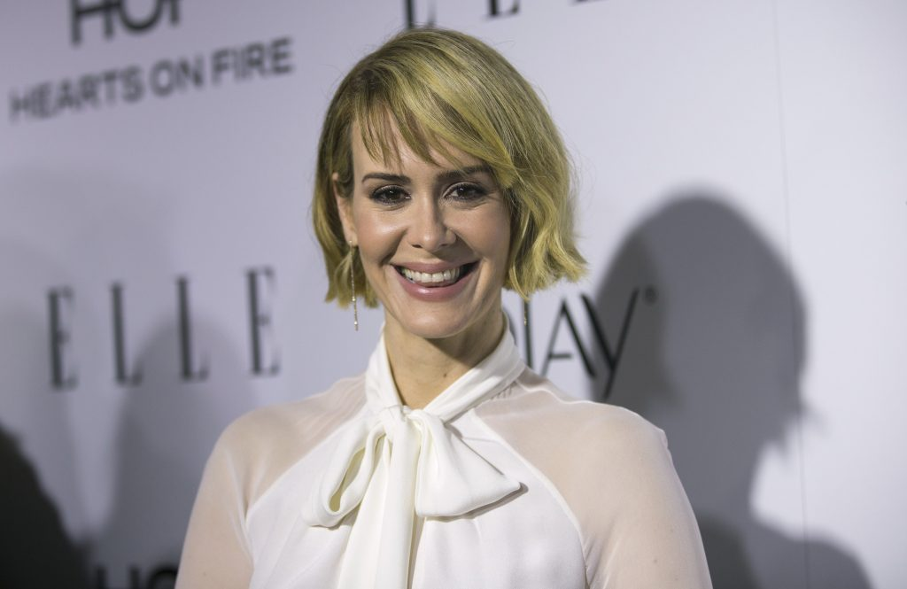 sarah paulson celebrity smile wallpapers