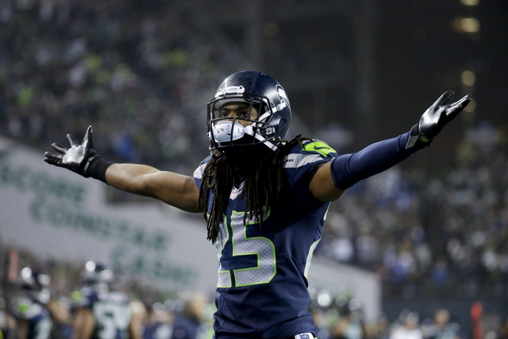 seattle seahawks richard sherman background wallpapers