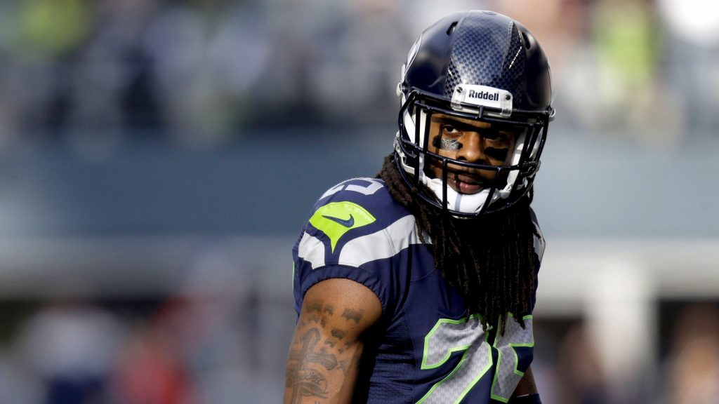 seattle seahawks richard sherman widescreen wallpapers