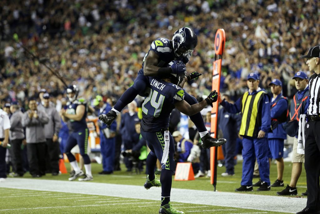 seattle seahawks widescreen wallpapers