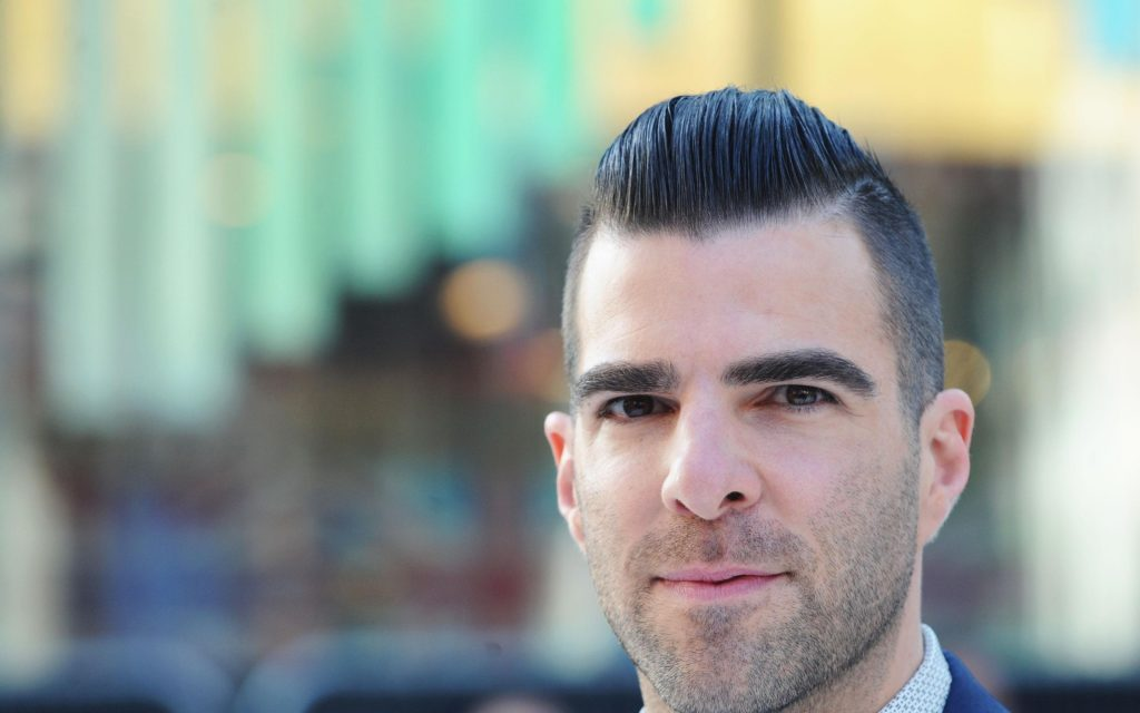 zachary quinto face widescreen wallpapers