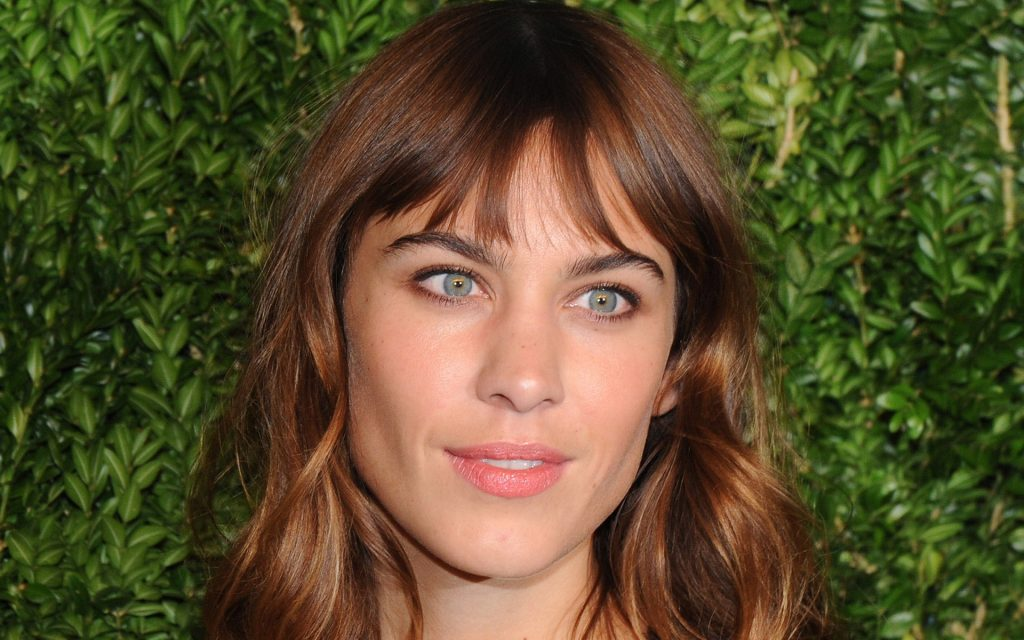 alexa chung face wallpapers