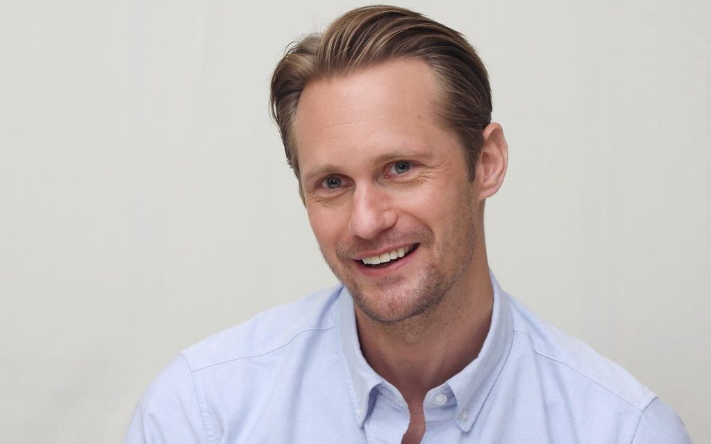 alexander skarsgard smile wallpapers