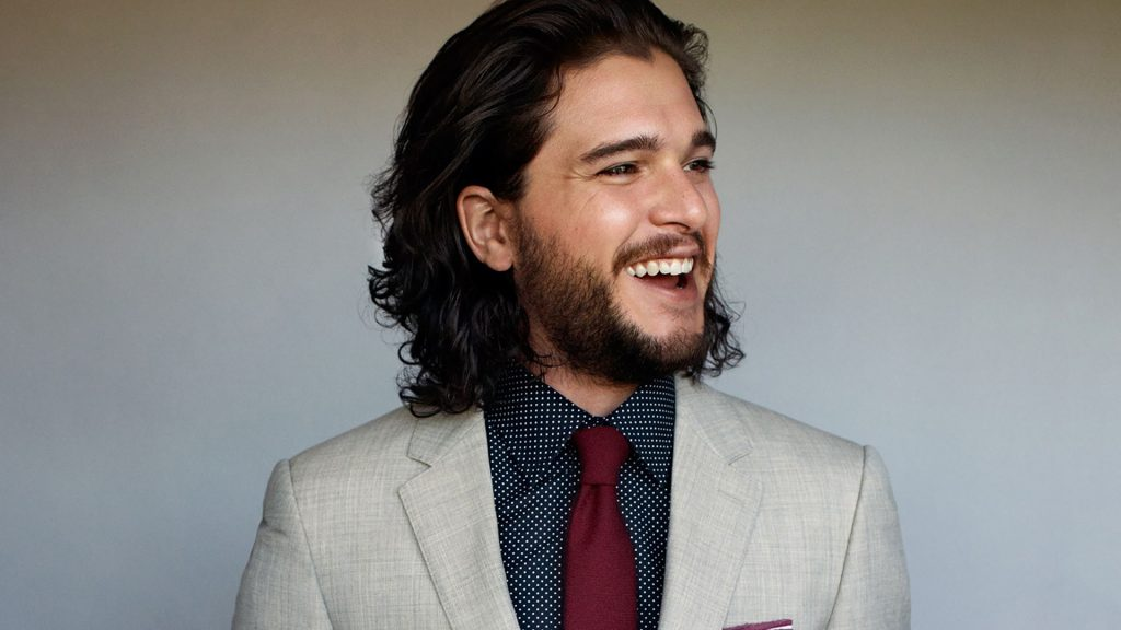 happy kit harington wallpapers
