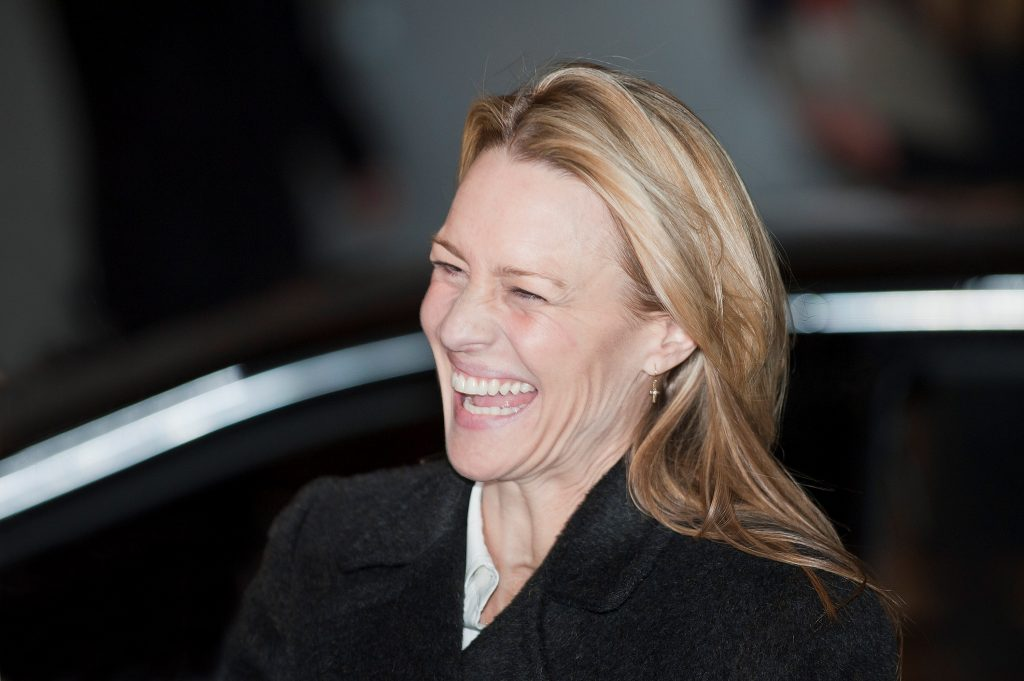 happy robin wright wide wallpapers