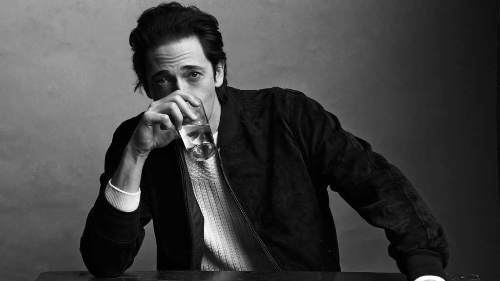 monochrome adrien brody widescreen wallpapers