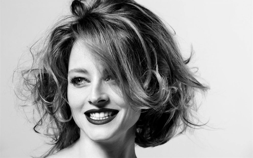 monochrome jodie foster widescreen wallpapers