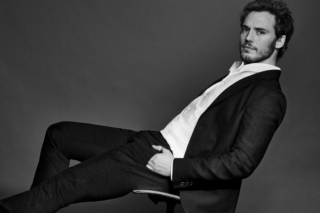 monochrome sam claflin desktop wallpapers