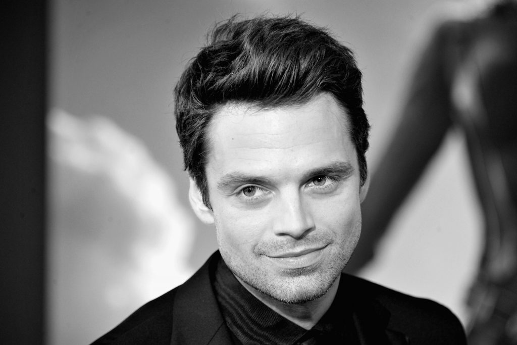 monochrome sebastian stan wallpapers