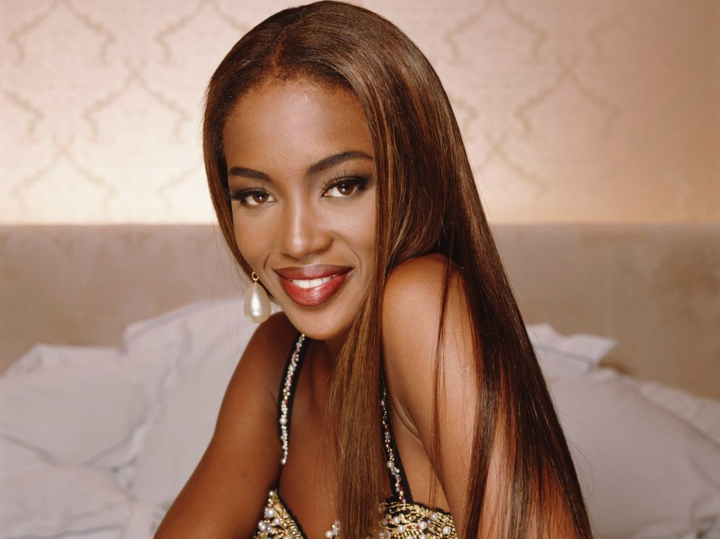 naomi campbell smile wallpapers