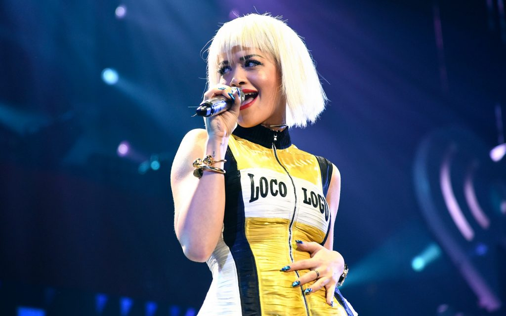 rita ora performing hd wallpapers