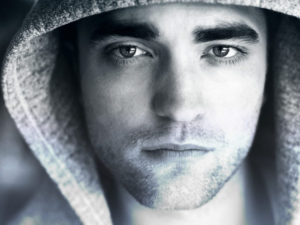 robert pattinson face wallpapers