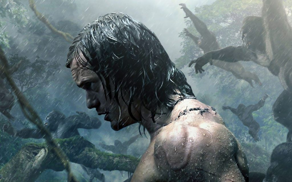 the legend of tarzan movie wide wallpapers