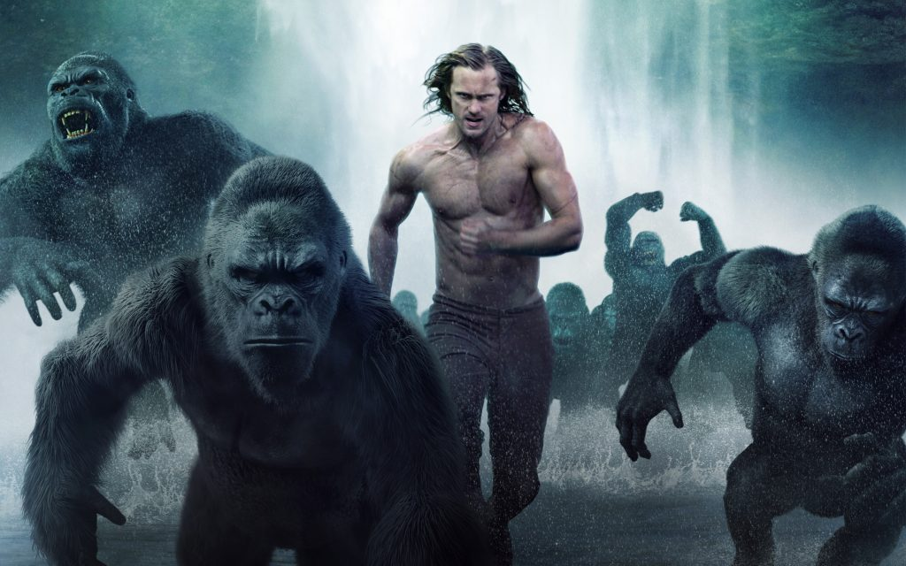 the legend of tarzan movie wallpapers