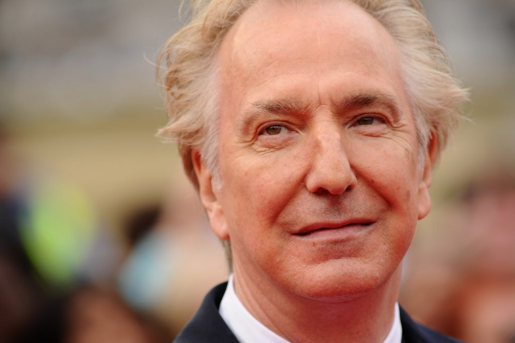 alan rickman face wallpapers