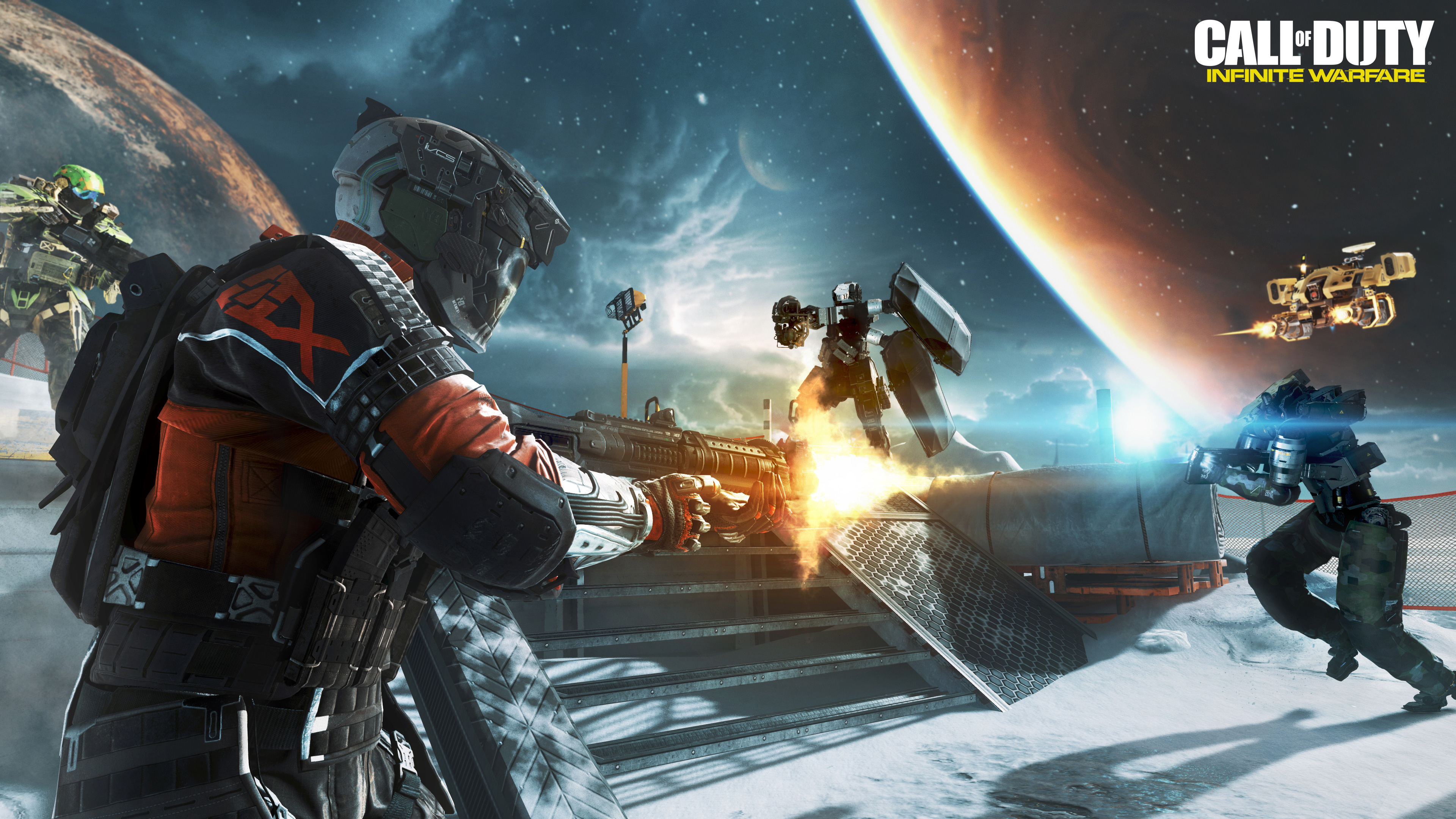 Cod Infinite Warfare Wallpaper: 20 HD Call Of Duty Infinite Warfare Wallpapers