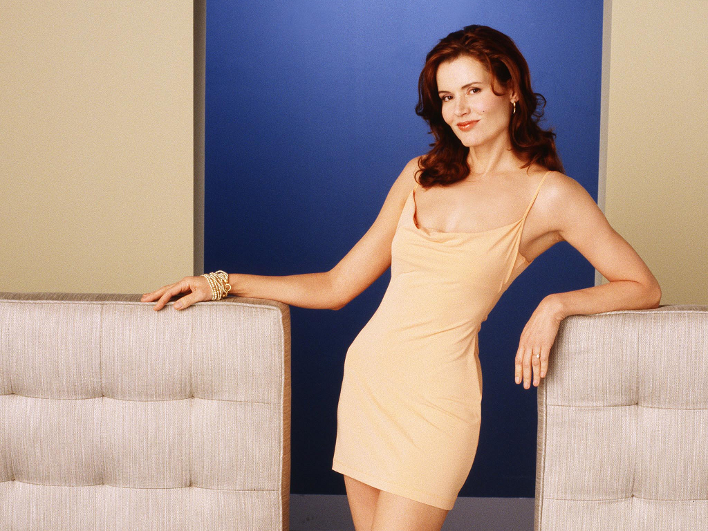 hot geena davis wallpapers