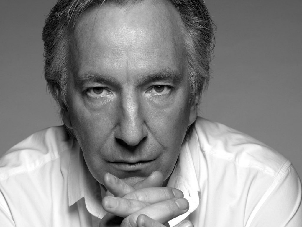 monochrome-alan rickman wallpapers