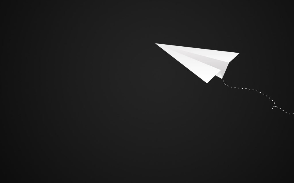 paper airplane desktop wallpapers