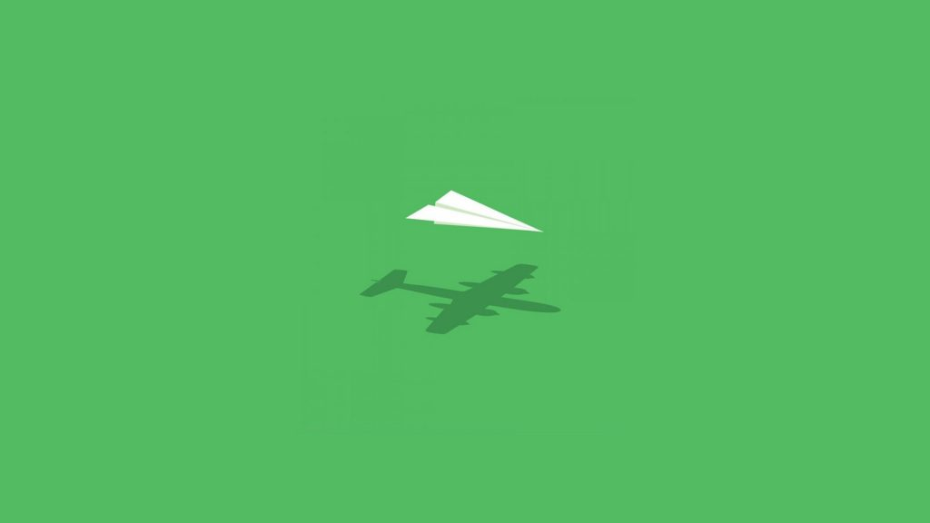 paper airplane imagination wallpapers