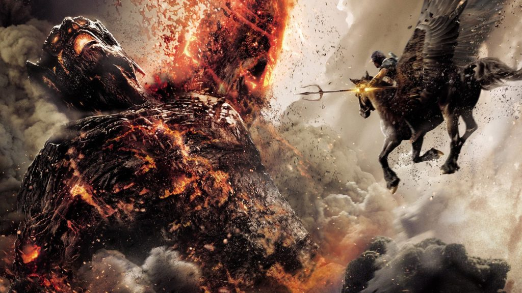 wrath of the titans wallpapers