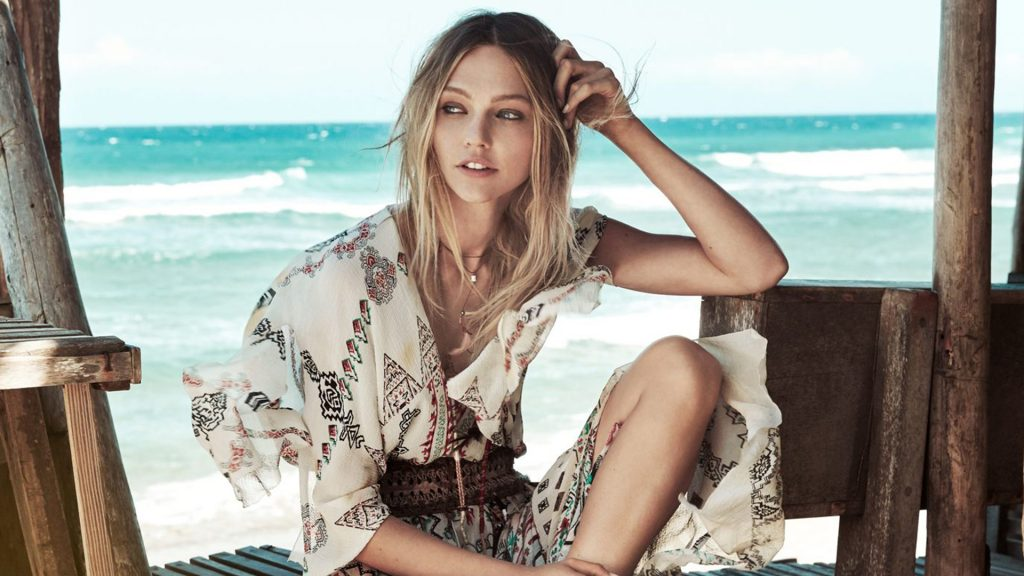 beautiful sasha pivovarova model wallpapers