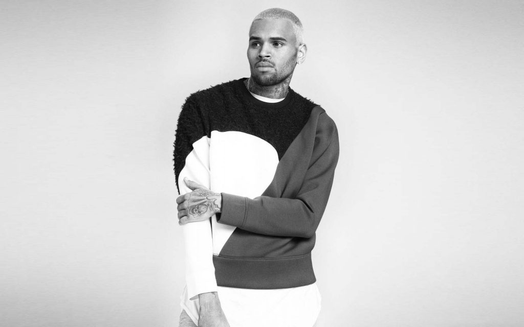 monochrome chris brown wallpapers