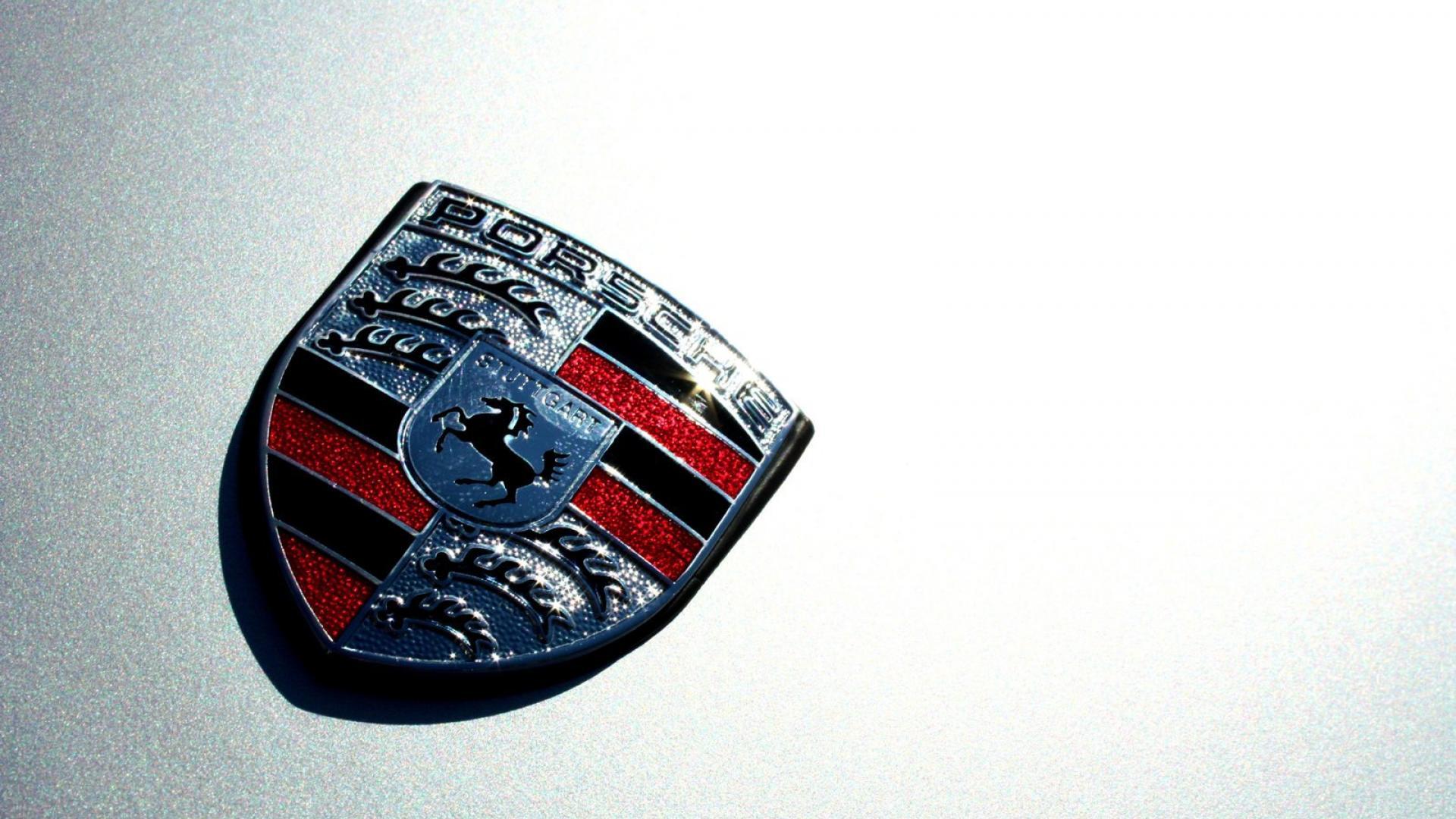 porsche logo hd wallpaper
