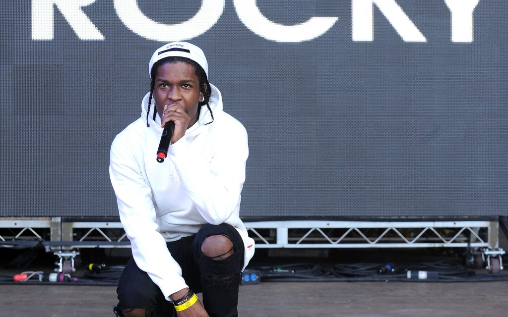 asap rocky performing background wallpapers