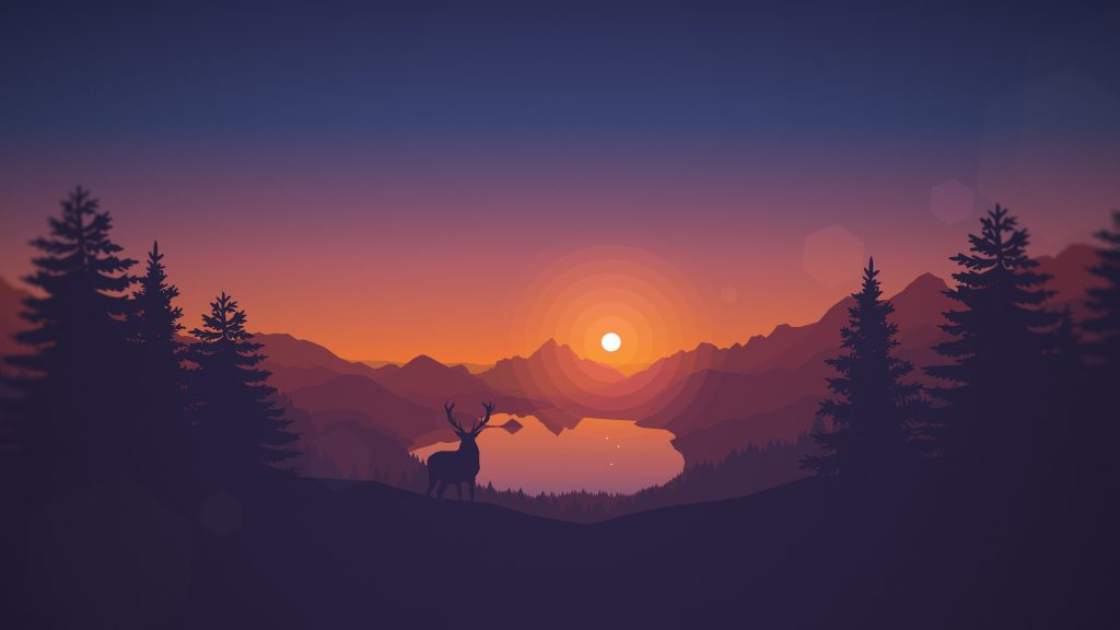 firewatch game widescreen hd wallpapers